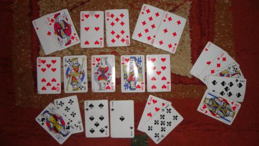 Значение игральных карт при гадании колода 36 шт