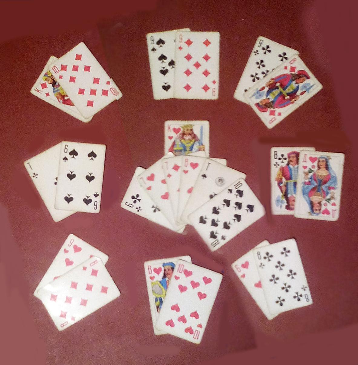 гадания на игральных картах на прошлое настоящее будущее